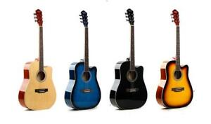 $30 discount coupon code ; AP4AJMJ457L4   for Acoustic guitars 41 inch full size for beginners