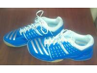 Adidas indoor shoes size uk9