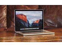 "2.3Ghz Core i7 15"" MacBook Pro Retina 8GB 256GB SSD Logic Pro Native Instrument Final Cut Sibelius"