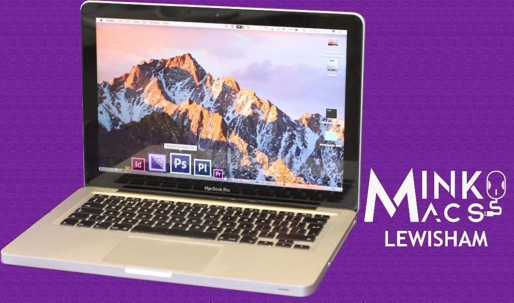 """2.3Ghz CORE i5 13"""" APPLE MACBOOK PRO 8GB 320GB HD PRO TOOLS 10 LOGIC PRO X ABLETON REASON SIBELIUSin Lewisham, LondonGumtree - Call Deyan; 07492390003 GUMTREE USERS BEWARE THERE ARE MANY OTHER GUMTREE SELLERS COPYING MINKOS MACS ENTIRE ADVERTISEMENT & UNFORTUNATELY THERES NOTHING WE CAN DO ABOUT IT COLLECTION WELCOME TRY BEFORE YOU BUY FREE LONDON DELIVERY APPLE 13"""" MACBOOK..."""
