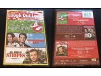 Ghostbusters, Groundhog day & Stripes. 3 Movie Collection