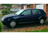 VW Golf 1.9 sdi 52 reg