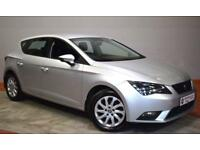 SEAT LEON 2.0 TDI SE TECHNOLOGY 5 Door Hatchback 150 BHP (silver) 2014