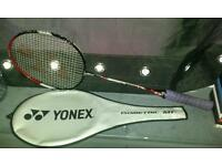 Yonex badminton racket for sale..very lightweight & the strings and racket are in great condition£20
