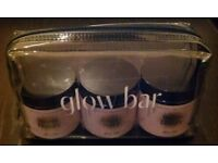 Set Of 3 'Glow Bar: Super Happy, Super Sexy & Super Glowy' Herbal Supplements In Plastic Case