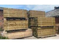 New Tanalised Railway Sleepers   Timber