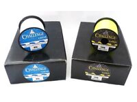 160x BRAND NEW SPOOLS OF CHALLENGE CLEAR & GOLD FISHING LINE