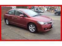 2009 Honda Civic 1.3 IMA Hybrid ES Saloon 4dr --- Automatic --- Hybrid --- Low 27000 Miles --- Civic