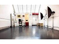 Photography / Photographic & Videography / Video Studio space to hire include lighting equipment.
