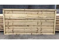 🌹Wooden Wayneylap Fence Panels * Pressure Treated