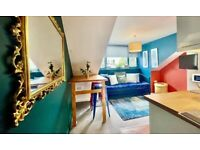 MODERN ONE BEDROOM FLAT AVAILABLE SEPT 2021 - FURNISHED - BUCKINGHAM PLACE - BRIGHTON