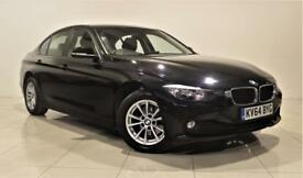 BMW 3 SERIES 2.0 320D EFFICIENTDYNAMICS BUSINESS 4d AUTO 161 BH (black) 2014