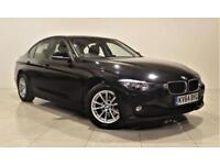 BMW 3 SERIES 2.0 320D EFFICIENTDYNAMICS BUSINESS 4d AUTO 161 BH (black) 2014