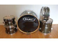 Mapex V Series Drums - Black Sparkle