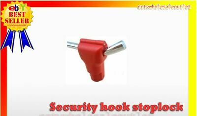 Security Stop Lock Hard Tag 100 Pcs Checkpoint Compatible 8.2mhz