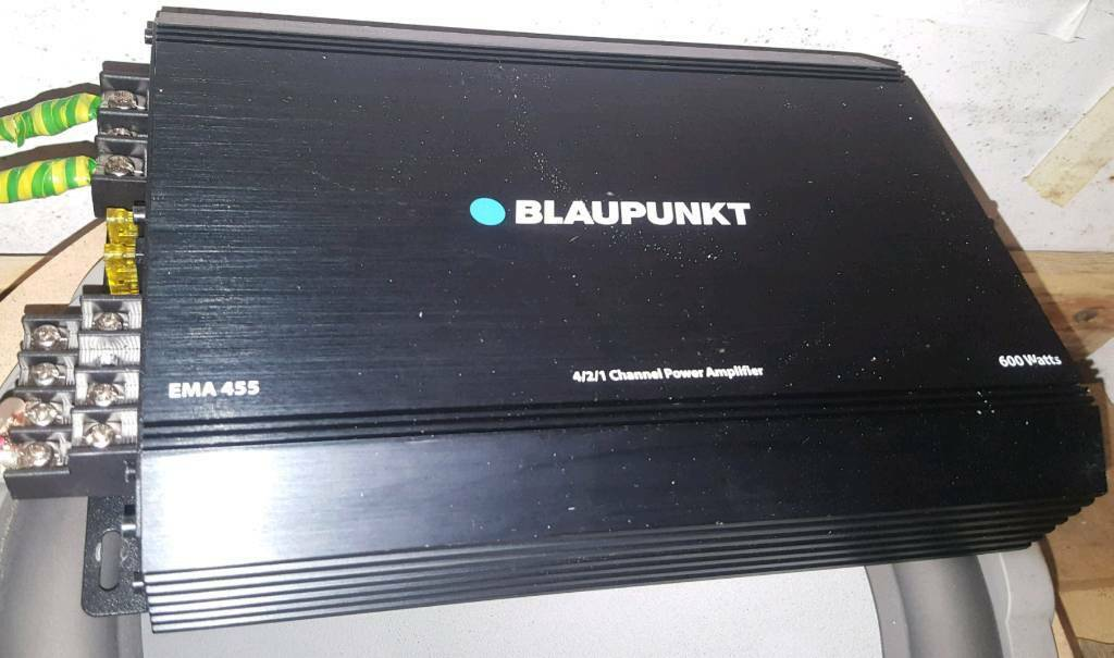 Blaupunkt amplifier 4x Chanel