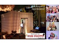 UNIQUE PHOTO BOOTH HIRE from £150