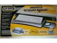 Fellowes Under desk keyboard manager (BNIB)
