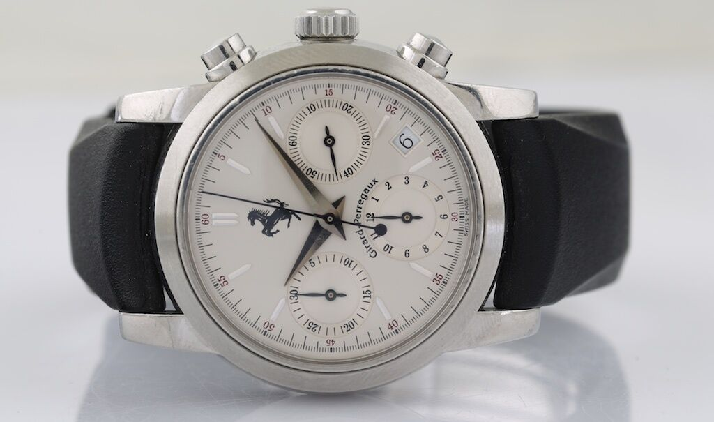 GIRARD PERREGAUX Ferrari Ref#8020 Chronograph Wristwatch - watch picture 1