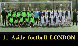 JOIN 11 ASIDE FOOTBALL TEAM IN LONDON, FIND SATURDAY FOOTBALL TEAM, JOIN SUNDAY FOOTBALL TEAM lt43s
