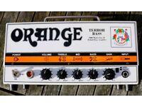 ORANGE TERROR BASS 1000w amp head