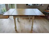 Vintage oak barley twist draw leaf table, extending dining table, kitchen table,