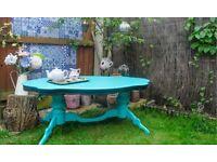 Bespoke painted coffee table