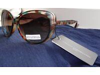 Brand new French Connection Plastic Camo Sunglasses FCU662