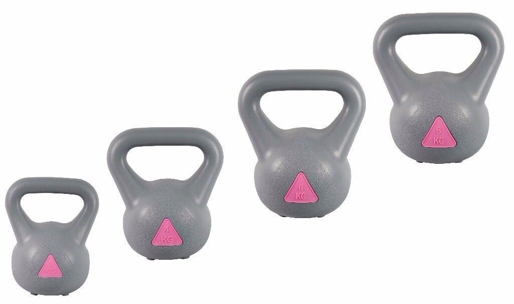Kettlebell Set 2-4-6-8kg Strong Arm Kettlebells, Free Weights, Kettlebell Weight Set, NEW: Free DVD