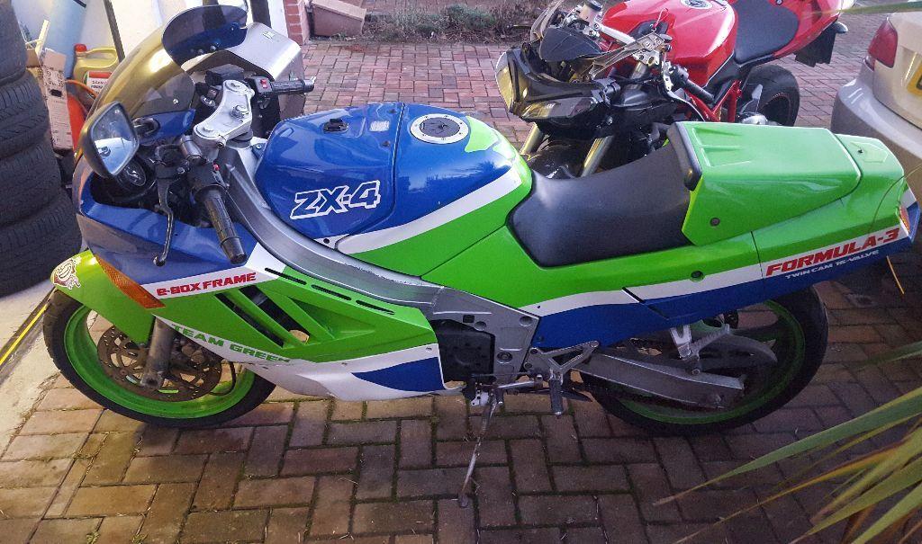 KAWASAKI ZX4 1988 Clic Sportbike | in Dundee | Gumtree