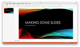 MICROSOFT OFFICE SUITE 2016 (MAC)