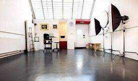 Photography Studio space to share in central london.