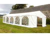 Marquee for BBQ's, birthday parties, get togethers, weddings, craft fairs. Stay out the rain!!