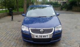 2008 (08) Volkswagen Touran S 1.9 TDI 90BHP Blue 6 speed