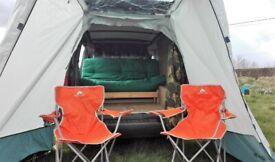 2008 Vauxhall Combo Day Van Campervan micro boot jump camper