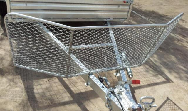 Heavy Duty Stone Guard For Camper Trailer Hot Dipped