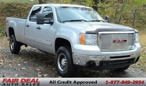 2010 GMC Sierra 3500HD SLE: 4X4/Z71 Package/Long Box/Crew Cab