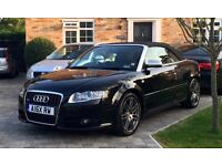 2009 (09) Audi A4 Cabriolet S Line Final Edition 2.0 TDI Manual Black