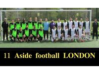 Join the biggest and the best football team in LONDON, find football team in London, play in london