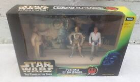 Vintage Kenner Star Wars The Power of the Force Purchase of the Droids - 1997