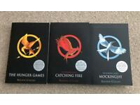 NEW The Hunger Games book set X 3