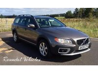 2009 Volvo XC70 2.4 D5 SE auto 4x4 estate car, FSH and MOT until April 2018, Bronze met/ Cream Lthr