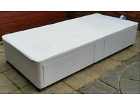 single bed with 2 storage drawers. purchased from Dreams store. In almost brand new condition.