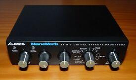Alesis Nanoverb 16 bit digital effects processor