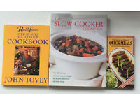 a good collection of 19 cooking books, will split.