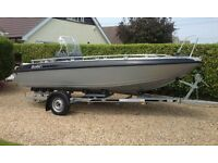Buster L Aluminium Fast Fishing Boat and Trailer