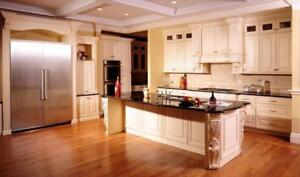 Solid Maple Cabinet 50% OFF, Granite/Quartz Countertop From $45 Installed, Free Sinks