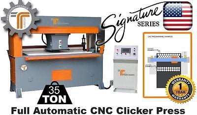 New Cjrtec 35 Ton Traveling Head Clicker Press Full Automatic Cnc