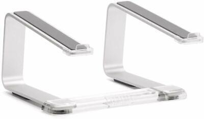 Griffin Elevator Laptop Stand, Apple Macbook Universal, Brushed Aluminum -