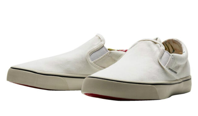 New Jack and Jones Surf Canvas Mens Loafer Bright White Shoes Boots